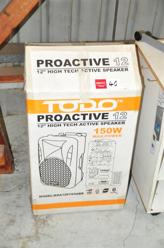 Speaker Toro Pro Active 12 (12 inch)