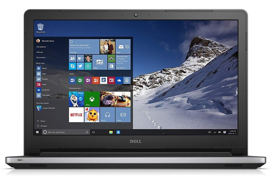 Dell Inspiron 15 5000 series 15.6-inch Notebook, Silver