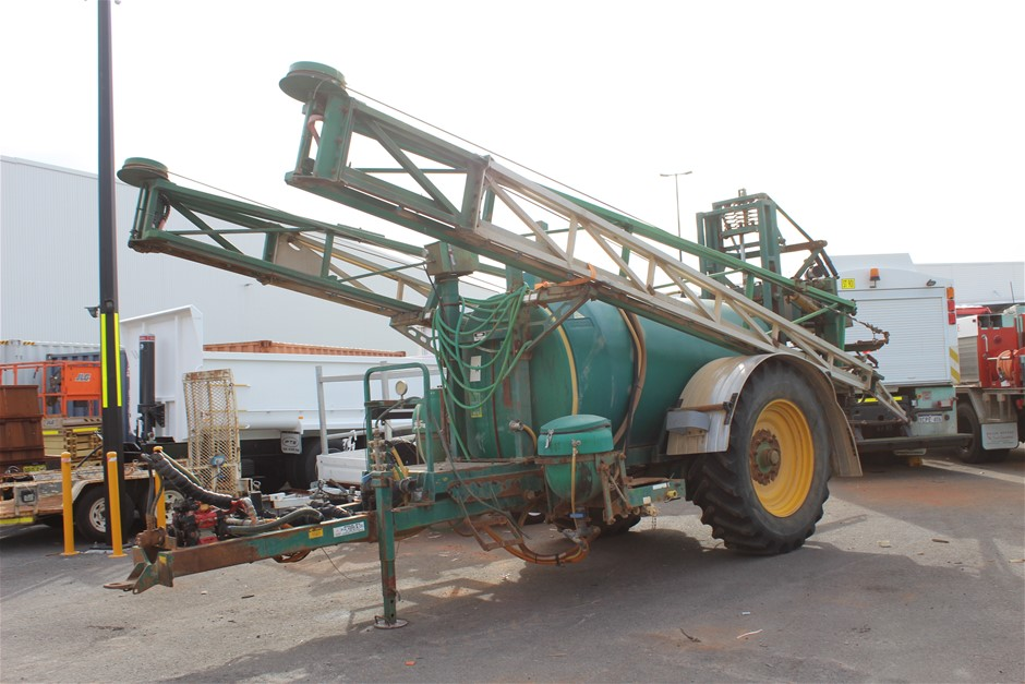 Goldacres Prairie Trailing Sprayer
