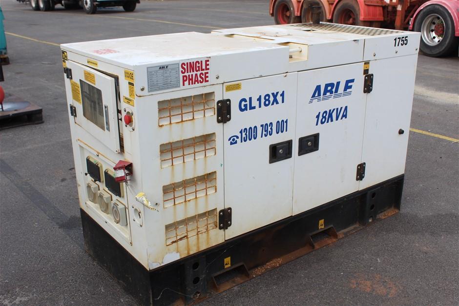Able 18KVA Diesel Generator
