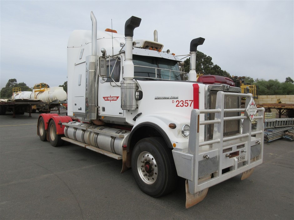 2012 Western Star 4900 FX Prime Mover Truck