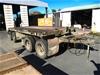 Haulmark Trailers Australia 4DT Flat Top, Medium Plant Transporter - 20 Ton