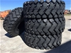 4 x Unused 23.5-25 Earthmoving Tyres