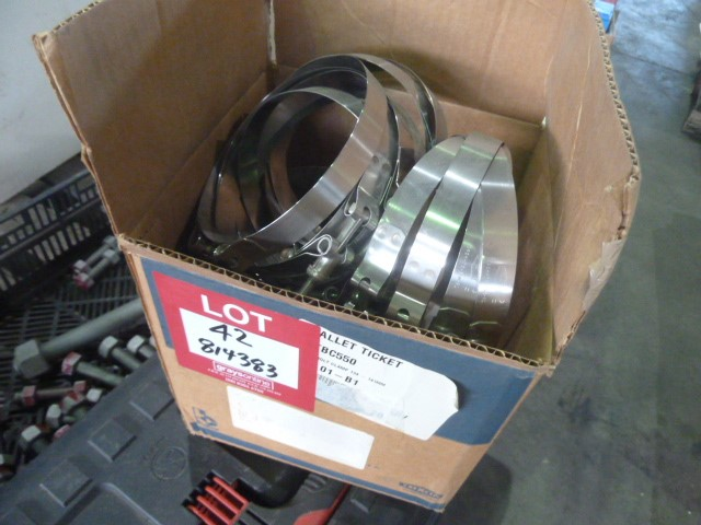 Qty 30x 316 Stainless Steel Bolt Slice Dixon Clamps (Pooraka, SA)