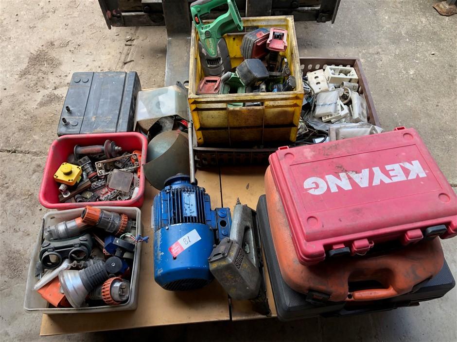 PASLODE Nail Gun, GMC Nail Gun Assorted Tools / Parts,