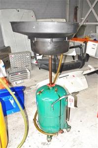 Workshop Under Hoist Waste Oil Drain Pan