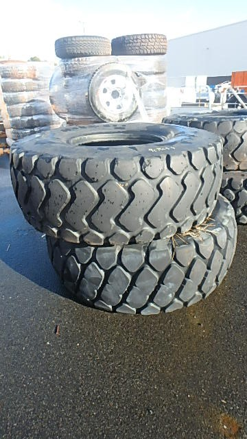 2 x Michelin Loader Tyres