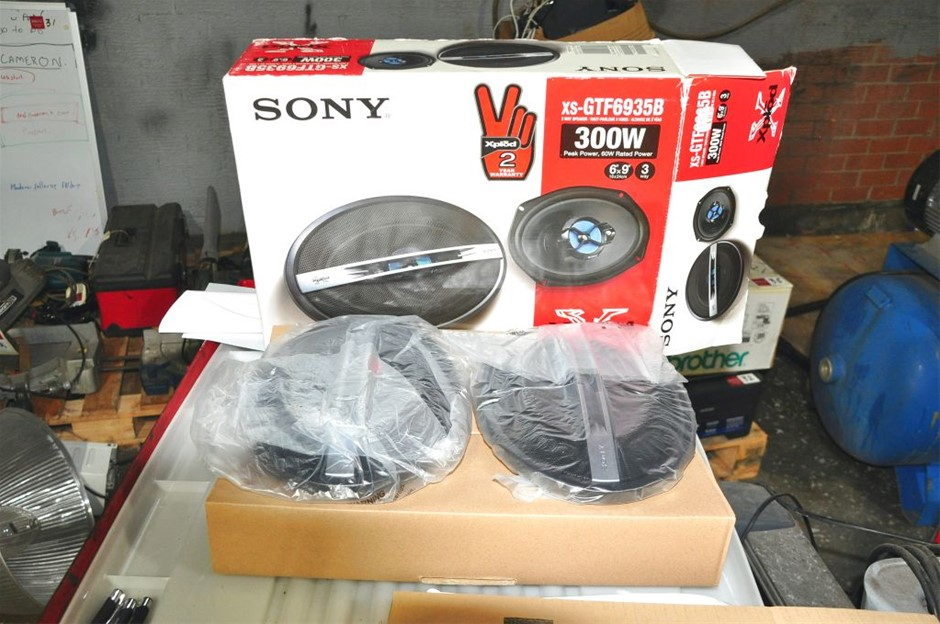 Sony XS-GTF6935B Speaker Kit