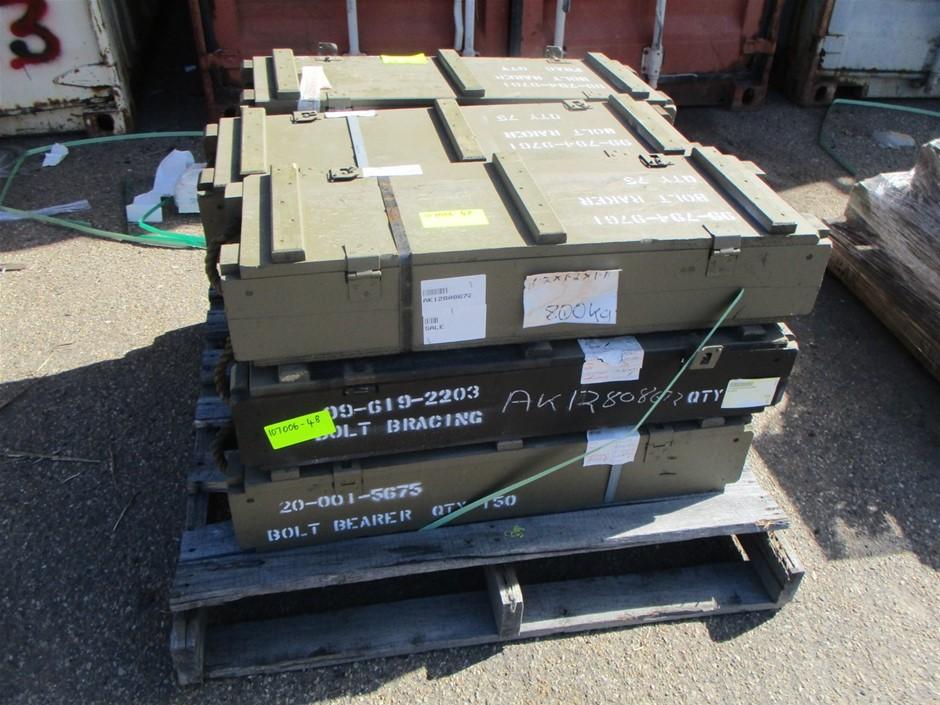 9 x Crates of Machine Bolts