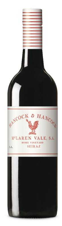 Hancock & Hancock Shiraz 2016 (12 x 750mL), McLaren Vale, SA.