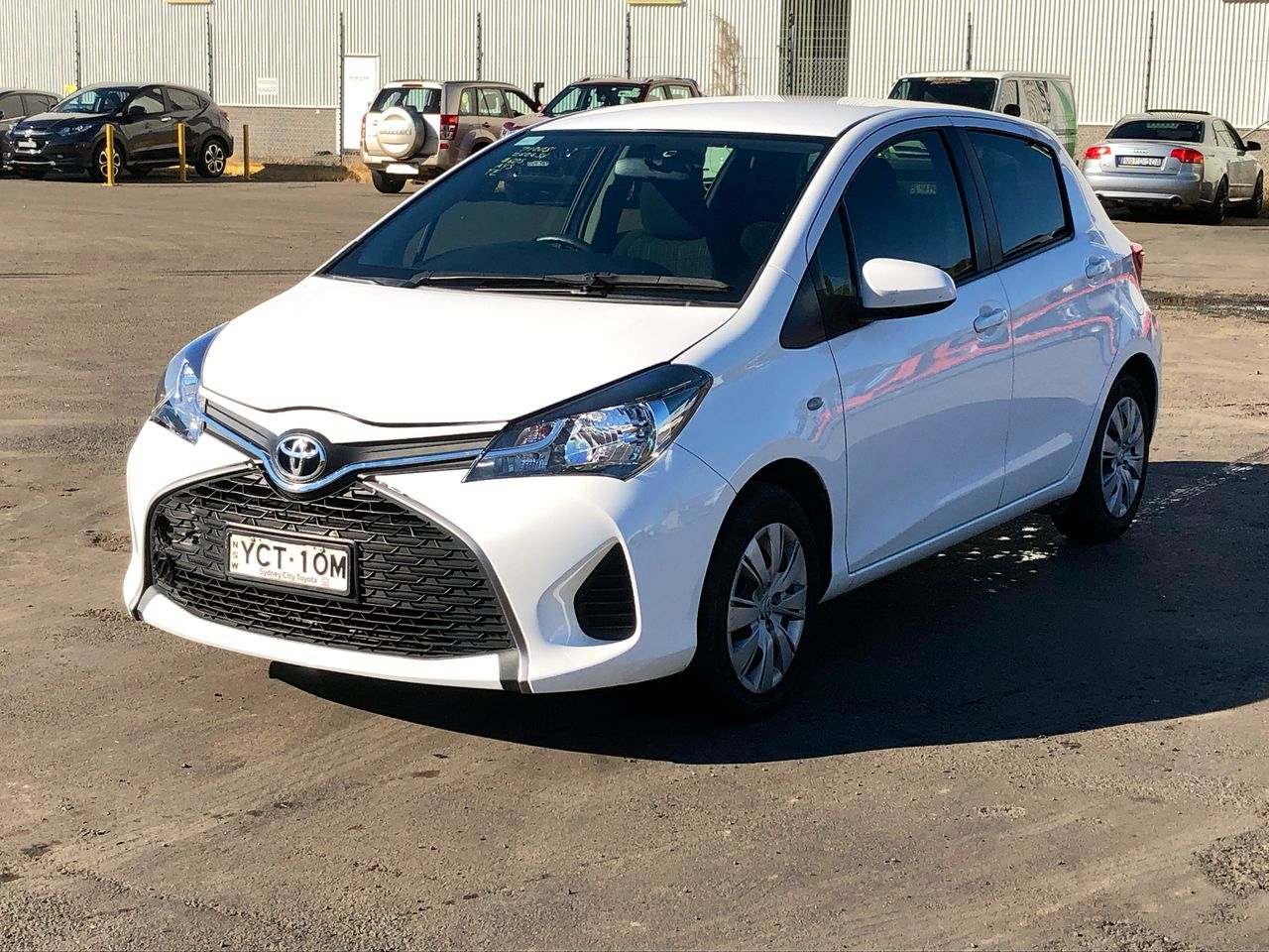 2014 Toyota Yaris Ascent NCP130R Automatic Hatchback