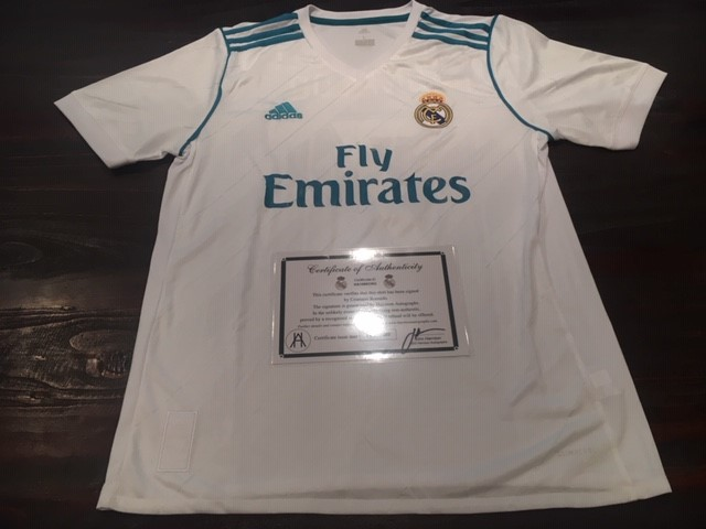 2017/18 Cristiano Ronaldo -Real Madrid FC Personally Signed Football Jersey
