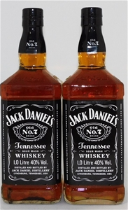 Jack Daniels Tennessee Whisky (2 x 1000m