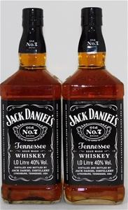 Jack Daniels Tennessee Whisky (2 x 1000m