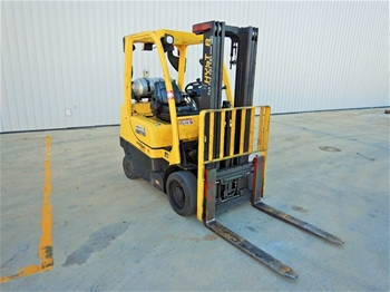 Hyster S60FT 4 Wheel Counterbalance Forklift