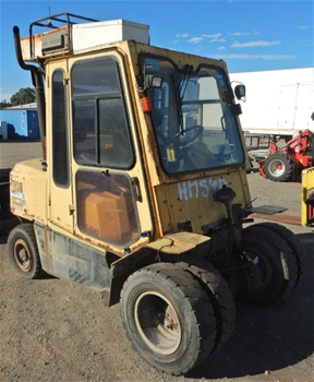 Hyster H5.00DX 4 Wheel Counterbalance Forklift