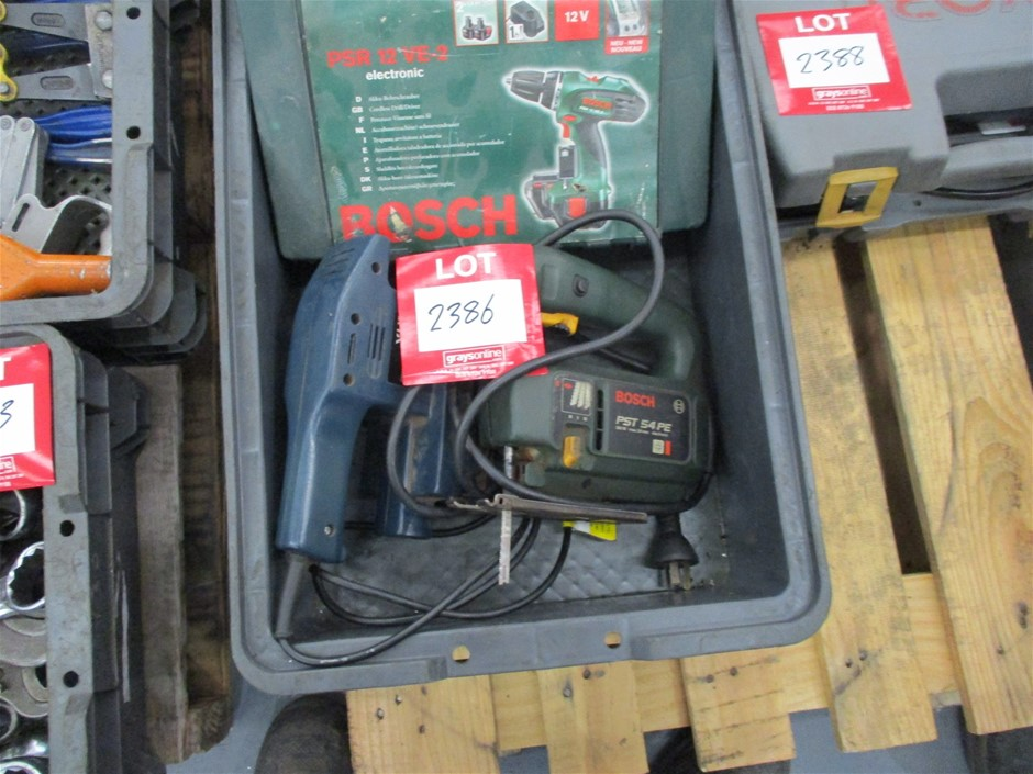 3 x Assorted Power Tools Comprising:
