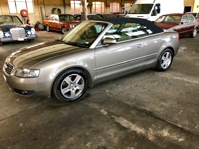 2003 Audi A4 FWD Automatic Convertible