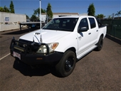 Cancelled: UNRESERVED 2008 Toyota Hilux SR-D40 4WD Manual Ute