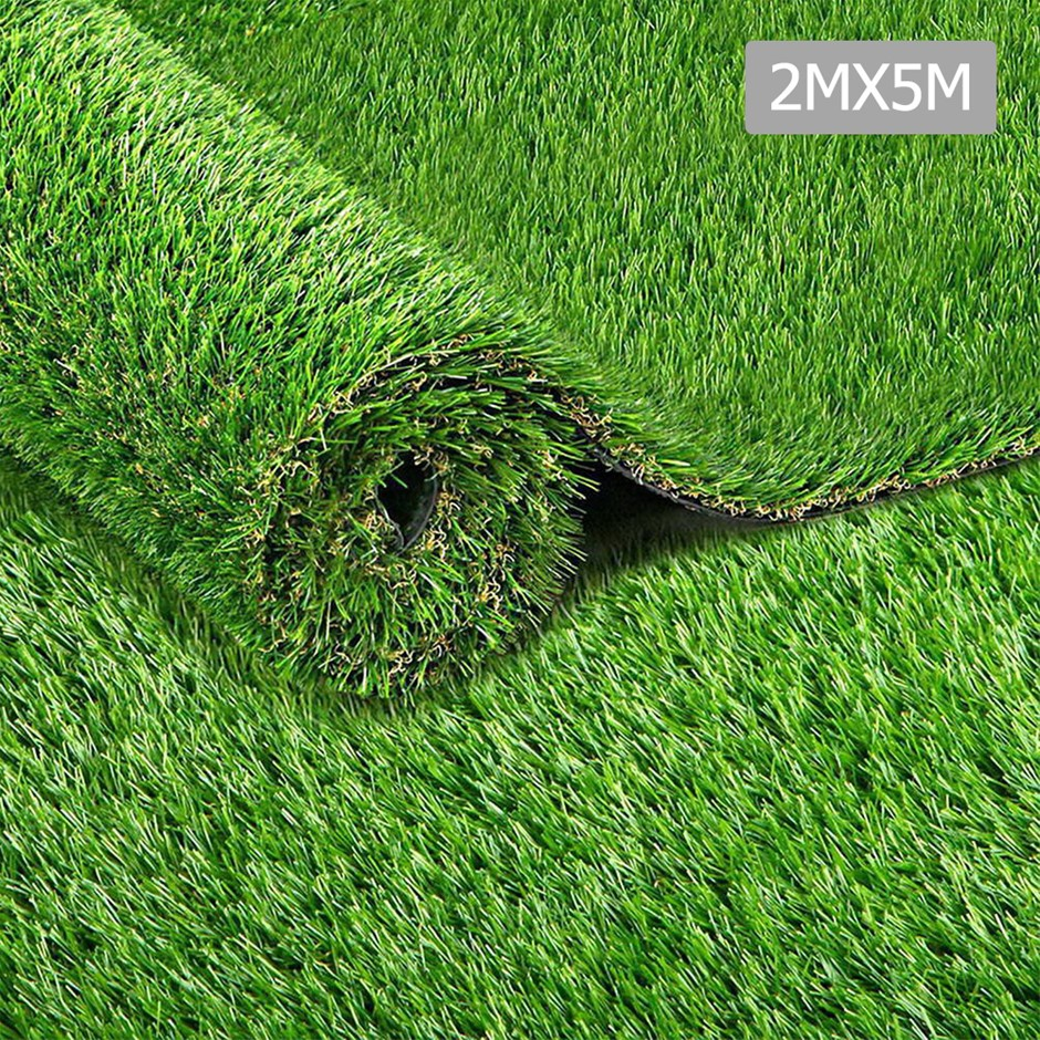 Primeturf Artificial Synthetic Grass 2 x 5m 20mm - Natural
