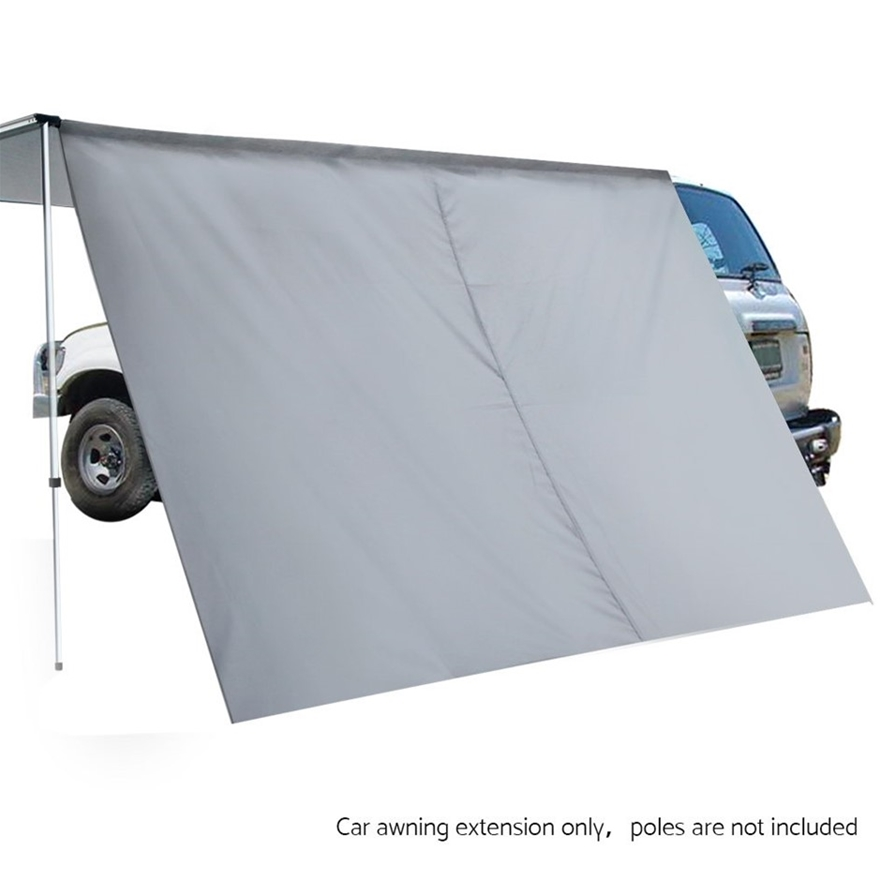 Buy Weisshorn Car Shade Awning Extension 3 x 2m - Grey ...