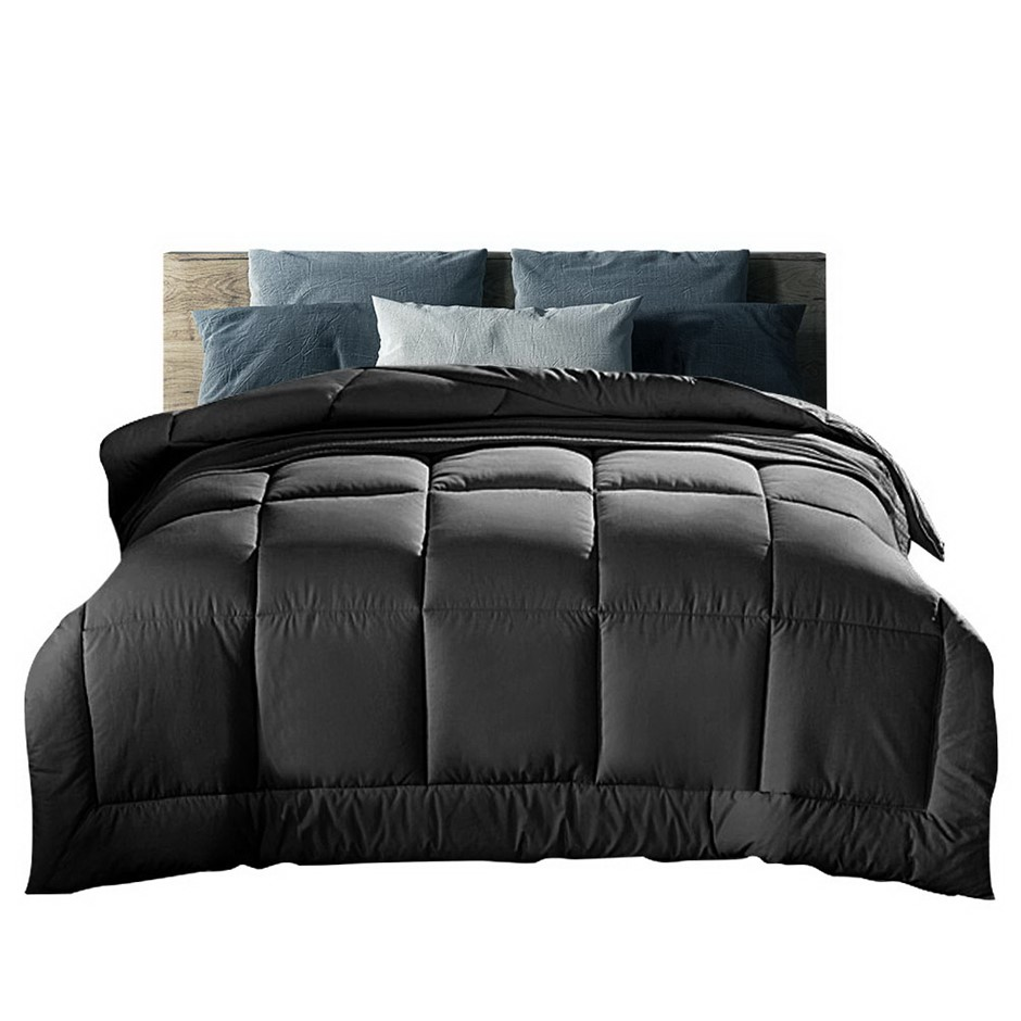 Giselle Bedding 400GSM Microfiber Microfibre Comforter - Winter King