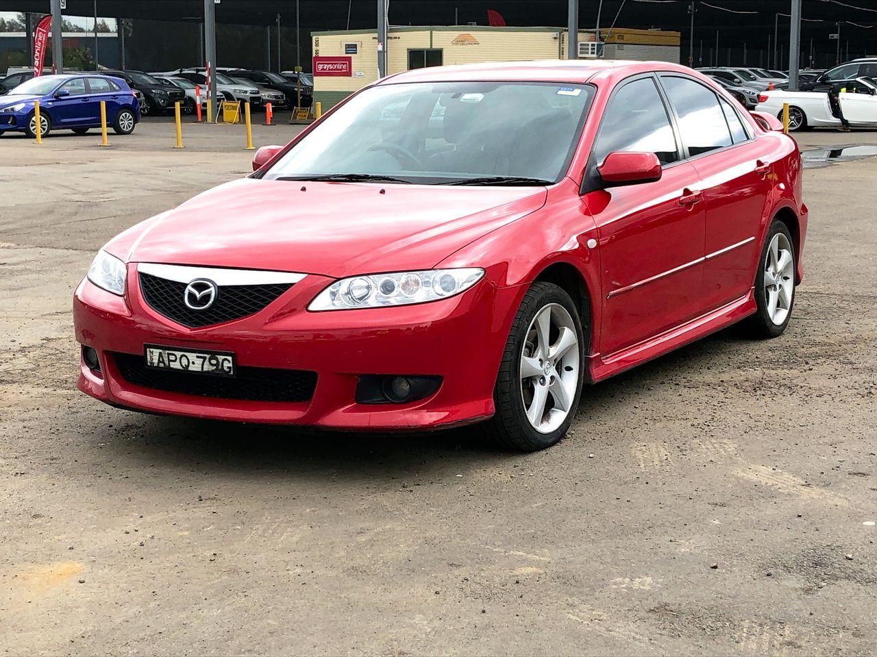 2003 Mazda 6 Luxury Sports GG Manual Sedan