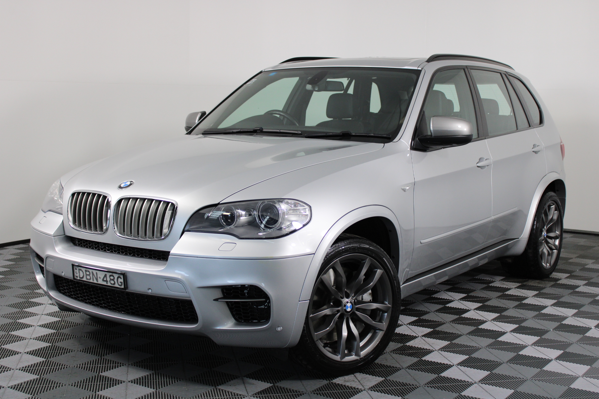 2013 BMW X5 M50d E70 LCI Turbo Diesel Automatic - 8 Speed Wagon