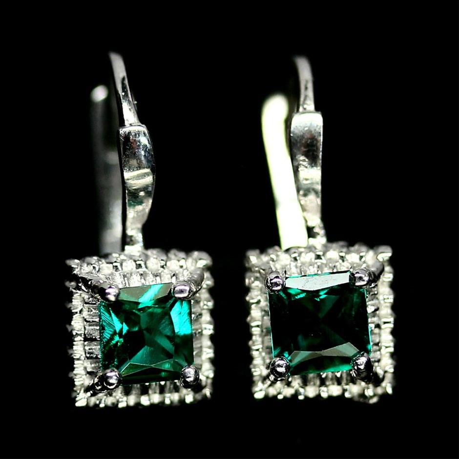 Phenomenal Emerald Drop Earrings