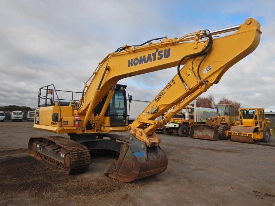 2015 Komatsu PC200LC-8M0 Tracked Hydraulic Excavator (Pooraka, SA)