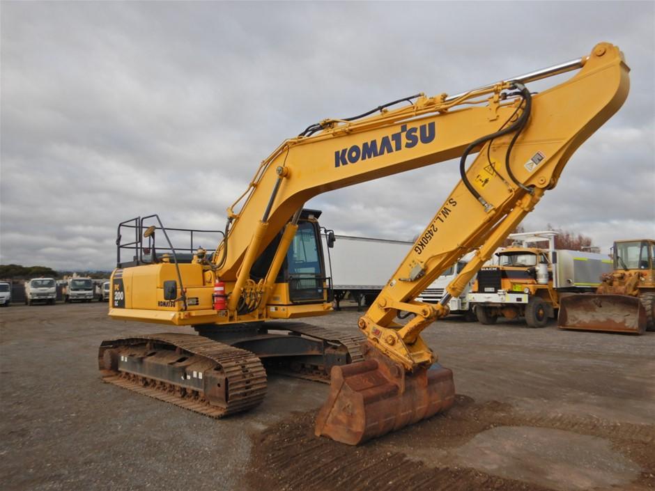 2014 Komatsu PC200LC-8M0 Tracked Hydraulic Excavator (Pooraka, SA)