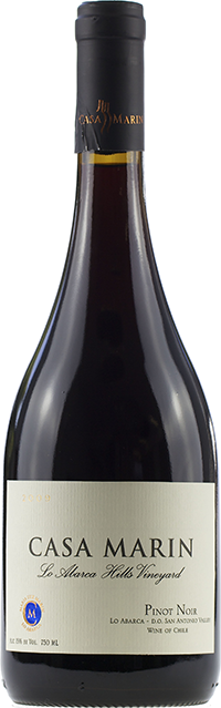 Casa Marín Lo Abarca Hills Vineyard Pinot Noir 2009 (6 x 750mL)