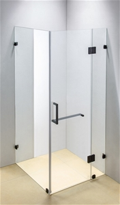 900 x 900mm Frameless 10mm Glass Shower