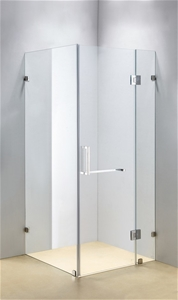 1200 x 900mm Frameless 10mm Glass Shower