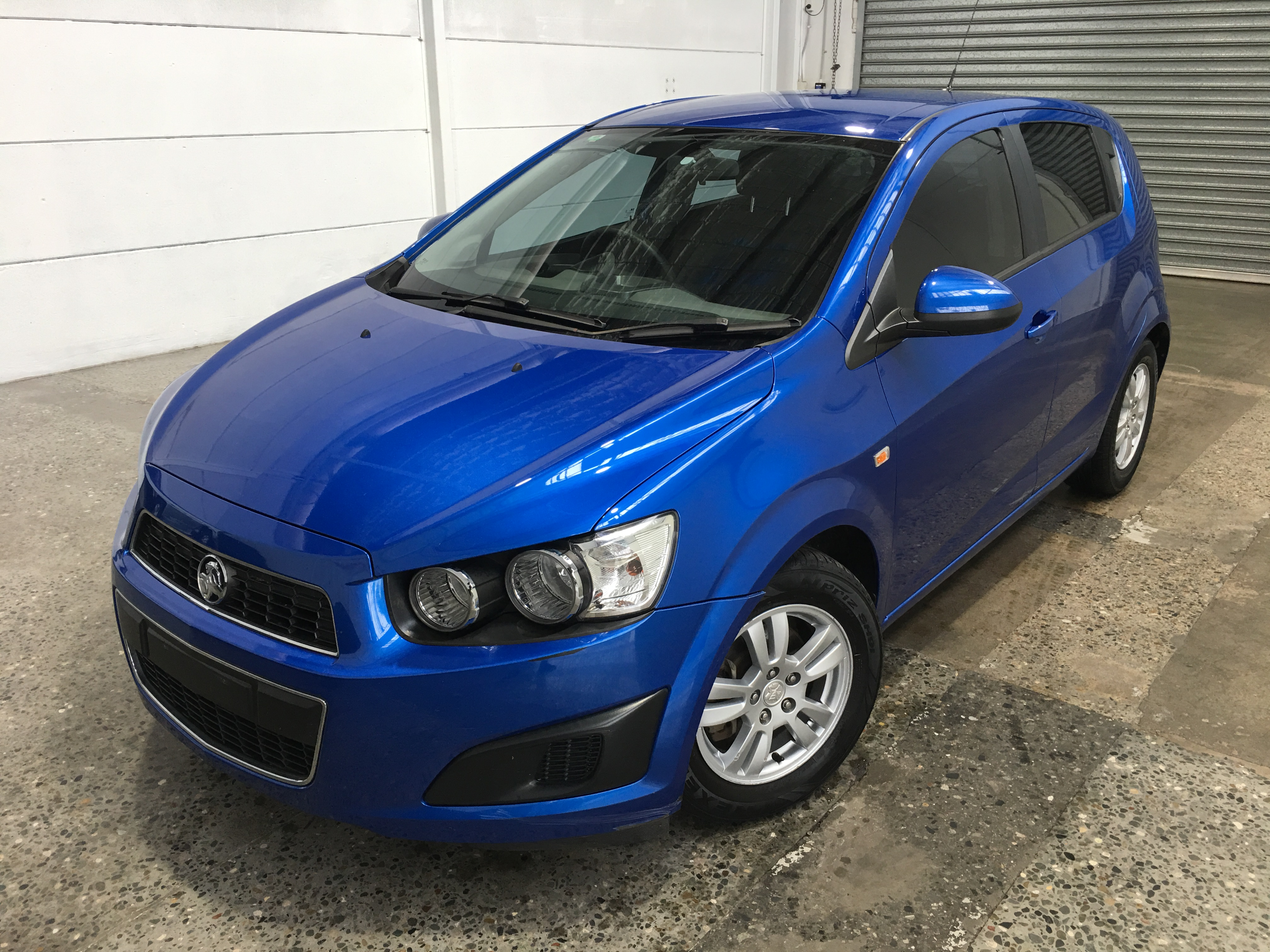 2012 Holden Barina TM Manual Hatchback