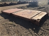 20ft shipping container flatbed base