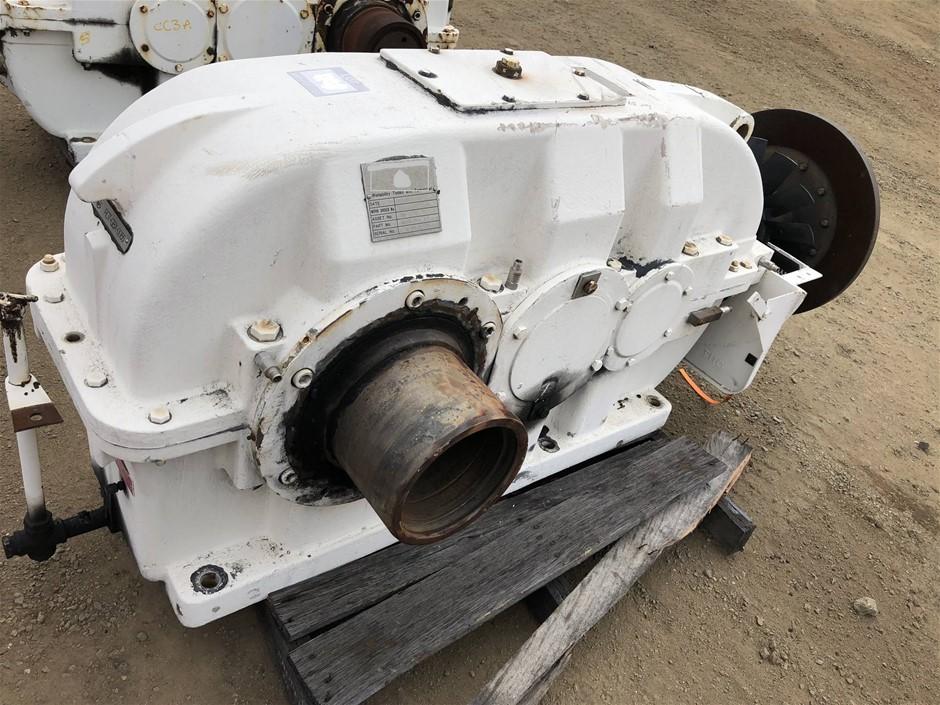 WGW KCH 400/400 KW Gearbox