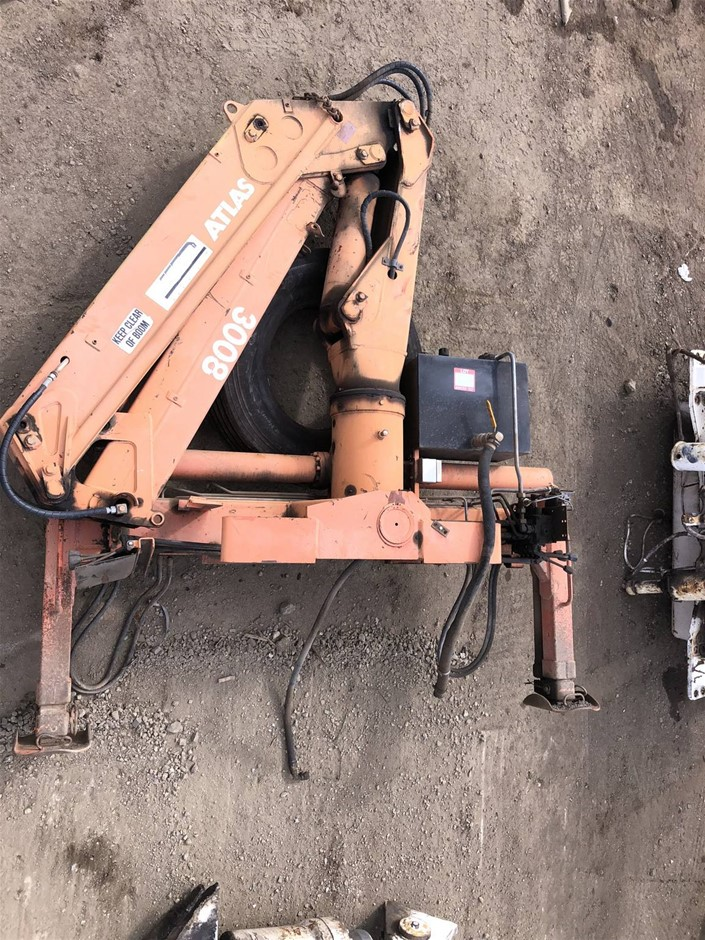 Atlas Crane Truck mounted AK300B