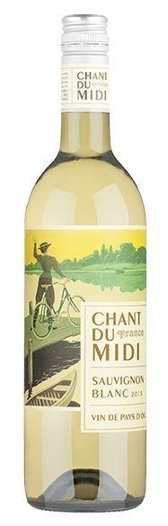 Chant Du Midi Sauvignon Blanc 2013 (12 x 750mL), France