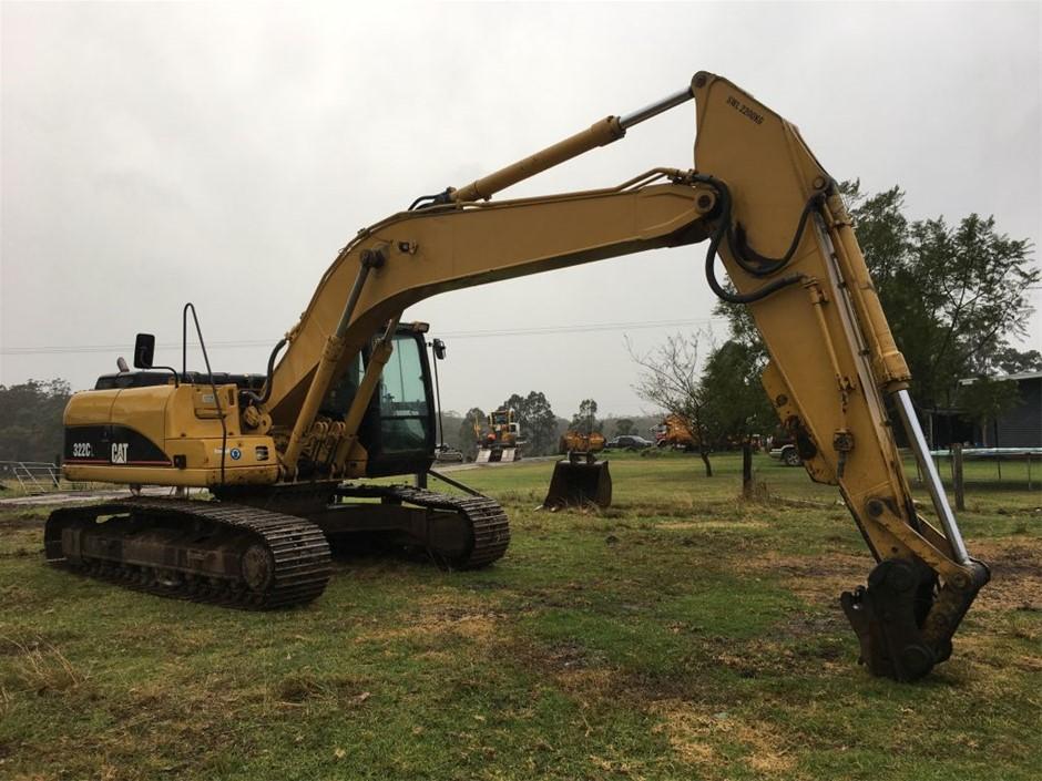 Caterpillar Excavator, Model: 322CL
