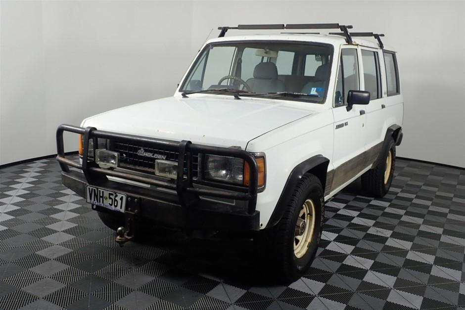 1989 Holden Jackaroo 4WD Manual Wagon