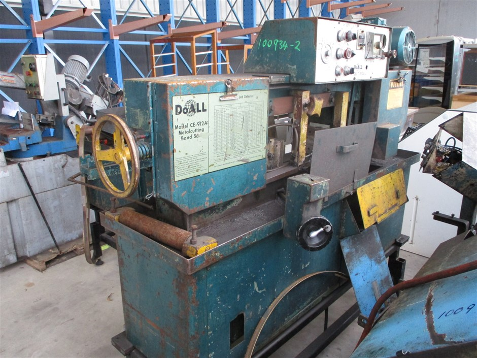 Doall C 912 A Bandsaw