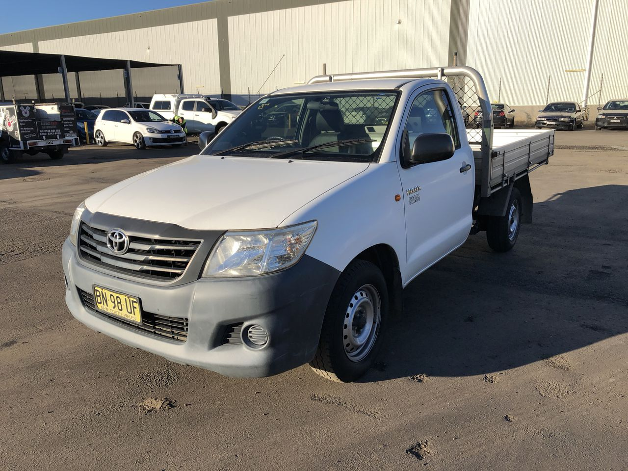 2012 Toyota Hilux Automatic Cab Chassis Ute