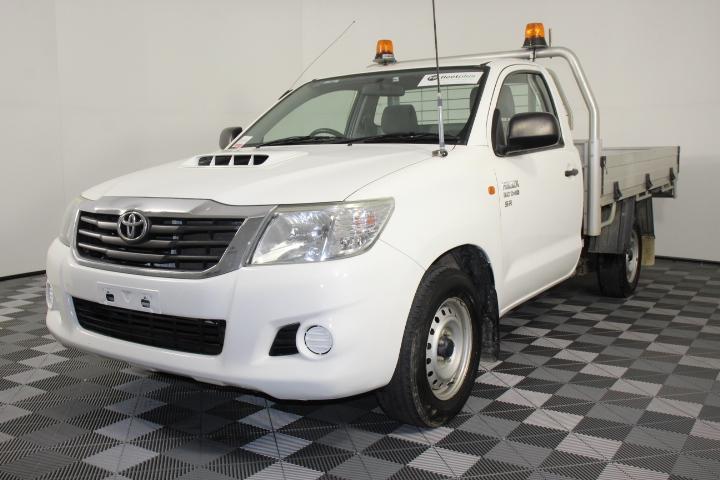 2014 Toyota Hilux SR KUN16R Turbo Diesel Manual Cab Chassis