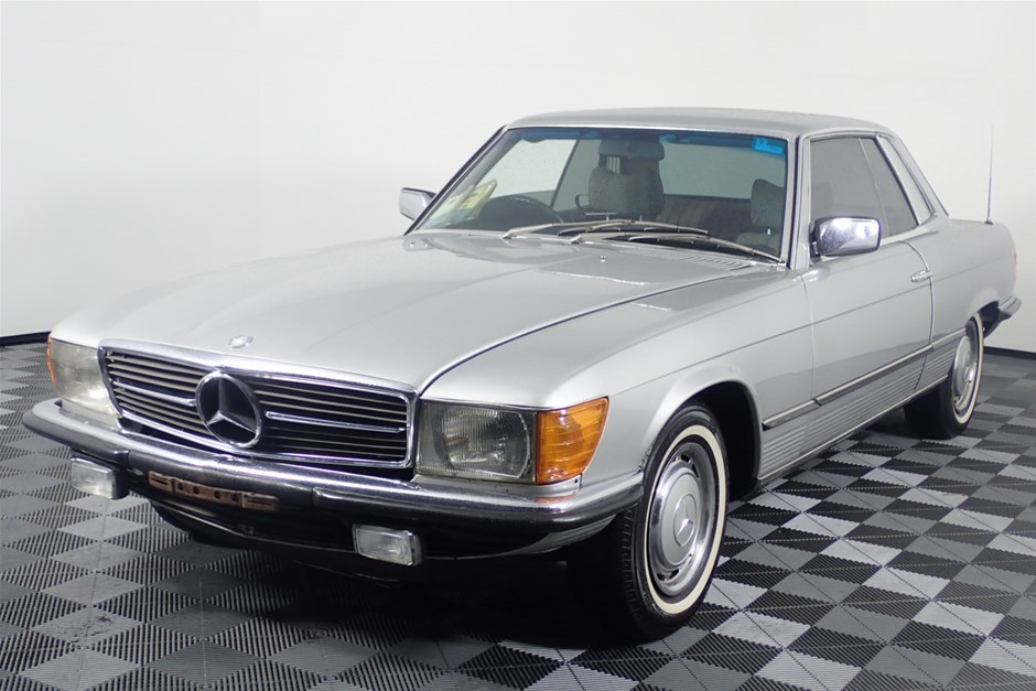1976 Mercedes Benz 280 Automatic Coupe