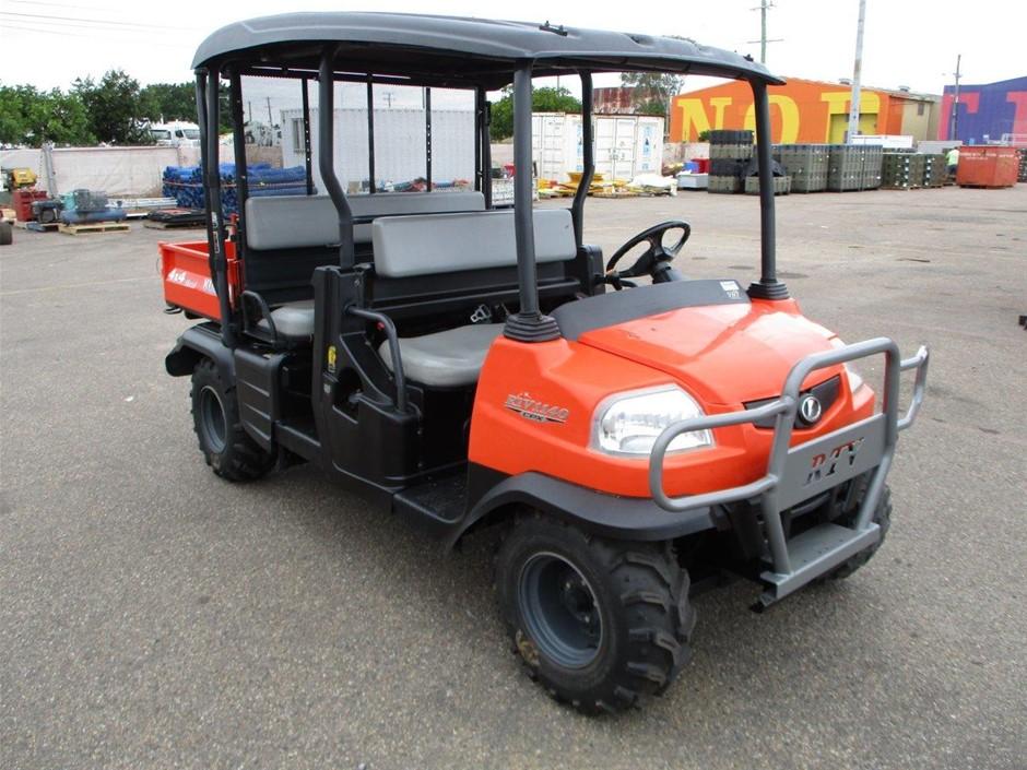 2015 Kubota RTV1140 CPX 4WD Selectable ATV