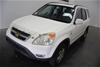 2002 Honda CR-V Sport RD Automatic Wagon 128,045km