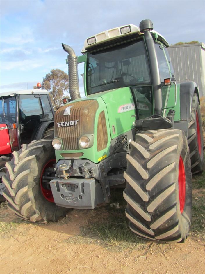 2010 Fendt 411 Tractor, Serial No. 1: 400212420