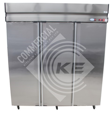 KINCO UPRIGHT 3 DOOR FREEZER, QUALITY COMMERCIAL KITCHEN EQUIPMENT