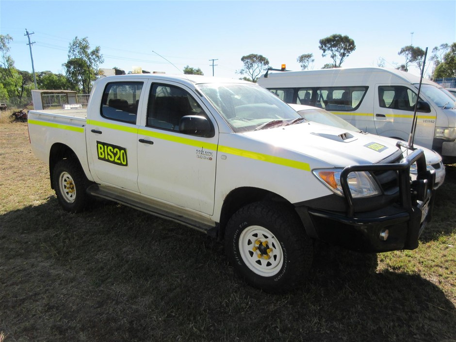 2006 Toyota Hilux SR 4WD Manual - 5 Speed Dual Cab Ute